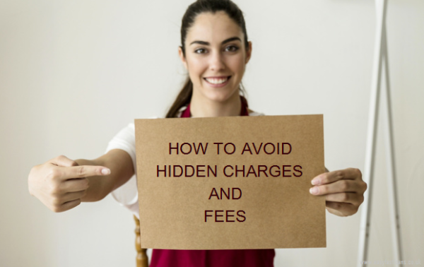 avoid hidden charges