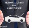 Personal loan for Car finance